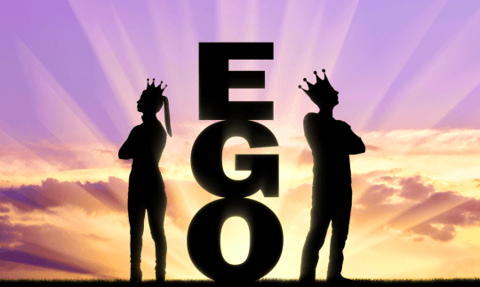 how ego ruins relationship