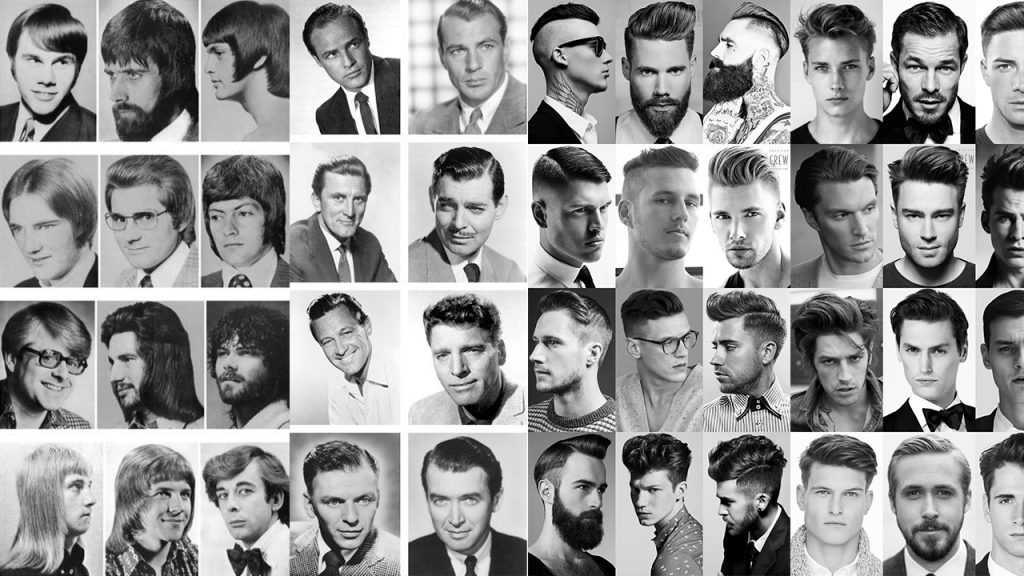 How Men S Hairstyles Evolved In The Past 70 Years Wikye