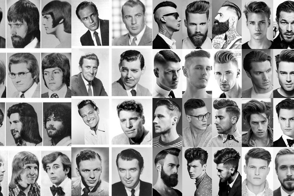 men's hairstyles evolution
