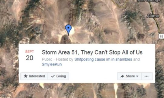 Why Raiding Area 51 is a Bad Idea