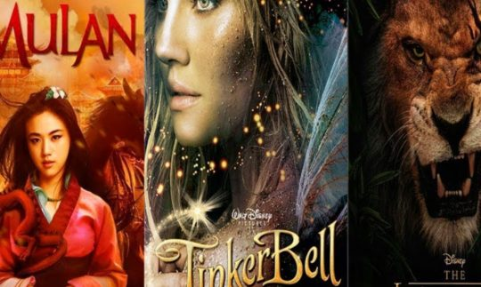 Here are the Upcoming Live-Action Disney Remakes