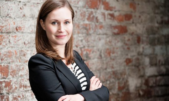 Sanna Marin of Finland to Become the Youngest Prime Minister