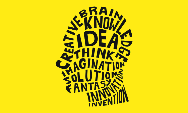 Imagination is powerful than knowledge, think,