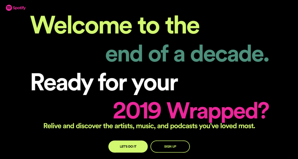 Spotify Wrapped: The Most Streamed Artists and Music of 2019⠀