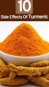 10 Side effects of Turmeric