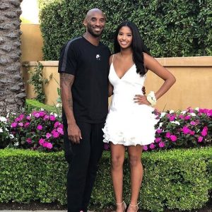 Natalia with her late father Kobe Bryant