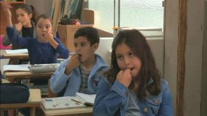 Children at schools in the Spanish Canary Island of La Gomera are learning an ancient local language