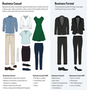 Business Casual vs. Business Professional