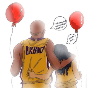 One of the creation of Kobe's well-wisher