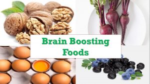 Eat brain boosting food for sharper brain