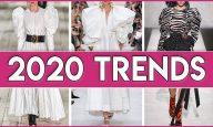 7 Fashion Trends That Will Revolutionize 2020