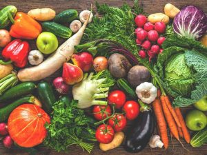 Fruits and Vegetables are important Pat of NHC diet plan