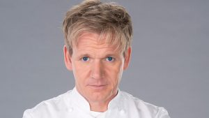 top master chef of the world, Gordon James Ramsay
