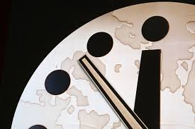 Doomsday clock: 100 seconds to midnight