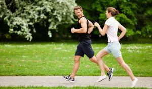 Jogging and Exercising along with NHC diet helps to lose weight