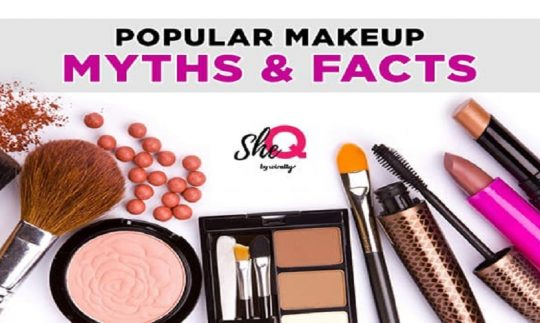 makeup facts and myths