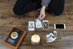 What is tarot card reading used for?