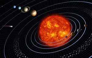 transition from geocentric to heliocentric
