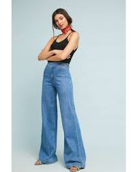 2020 Fashion Trends-Wide Leg jeans