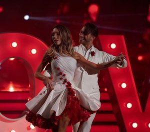 Chloe Lattanzi made her debut performance with Gustavo Viglio on Sunday's episode of Dancing with the Stars