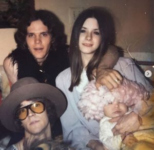 Doyle Bramhall II with his parents during his childhood