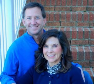 John Andretti with his former wife and now widower, Nancy Andretti