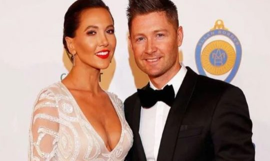 The image of Kyly Clarke and Michael Clarke