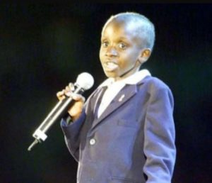 Late-Nkosi Johnson while delivering his speech at the 13th International AIDS Conference