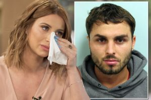 Mirror Ferne was in deep sorrow after her baby's father Arthur Collins was arrested in the Acid attack, Mirror