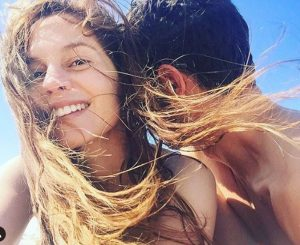 Melanie Zanetti also uploaded a picture with her partner on her Instagram