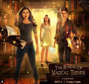 Melanie Zanetti shared a poster of The Bureau of Magical Things on her Instagram