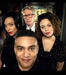 The Allen Family from Netflix's October Faction