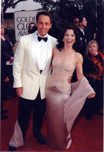 Peter Marc Jacobson and Fran Drescher, Nanny outfit