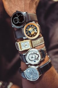 Aldis Hodge's watch Collection
