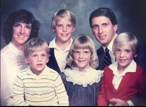 Ryan Biegel with his family, childhood, early life, Bio
