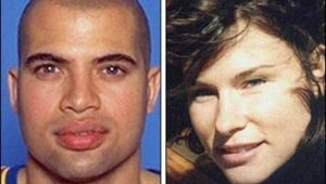 Bison Dele and his former girlfriend Serena Karlan