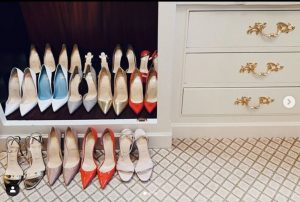 Camila Morrone shoe collection