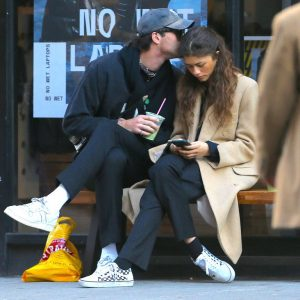 Jacob Elordi and Zendaya had a moment in New York City