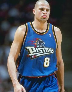 NBA Star Bison Dele, Pistons