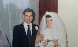 keelin shanley with her husband