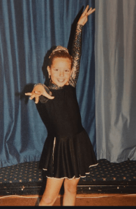 Young Amy Dowden Dancing