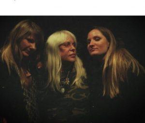 Genesis P-Orridge with her two daughters, Caresse P-Orridge and Genesse P-Orridge