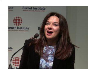 Katherine Kedzierska, the head of the Human T cell Laboratory