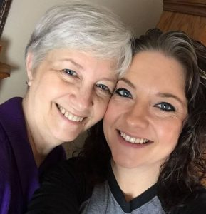 Ashley McBryde with her mother
