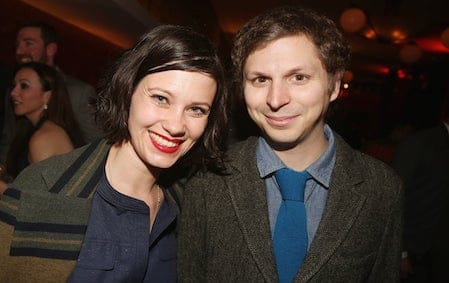 Michael Cera and His wife Nadine