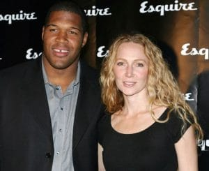 Michael Strahan with his second and former wife, Jean Muggli