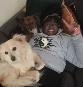 Nicole Byer enjoying her time at home during the pandemic time