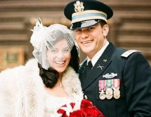 Pete Hegseth with his second and former wife, Samantha Deering