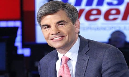 The image of George Stephanopoulos