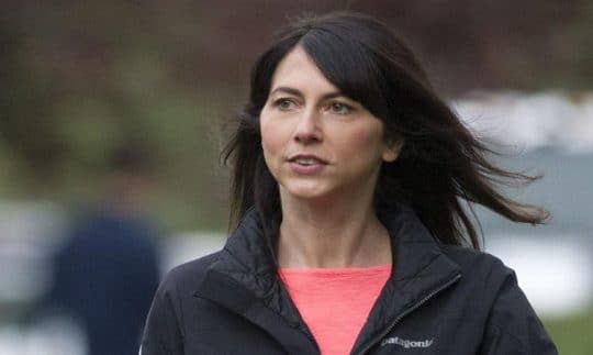 The image of MacKenzie Bezos
